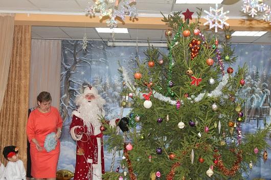 Детский сад и Дед Мороз