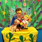 Кукольный спектакль про волшебство
