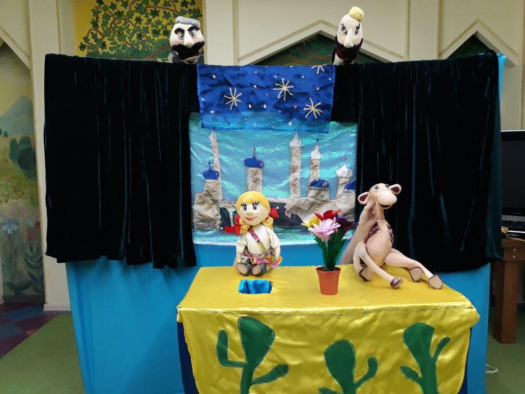 Выездная кукольная сказка