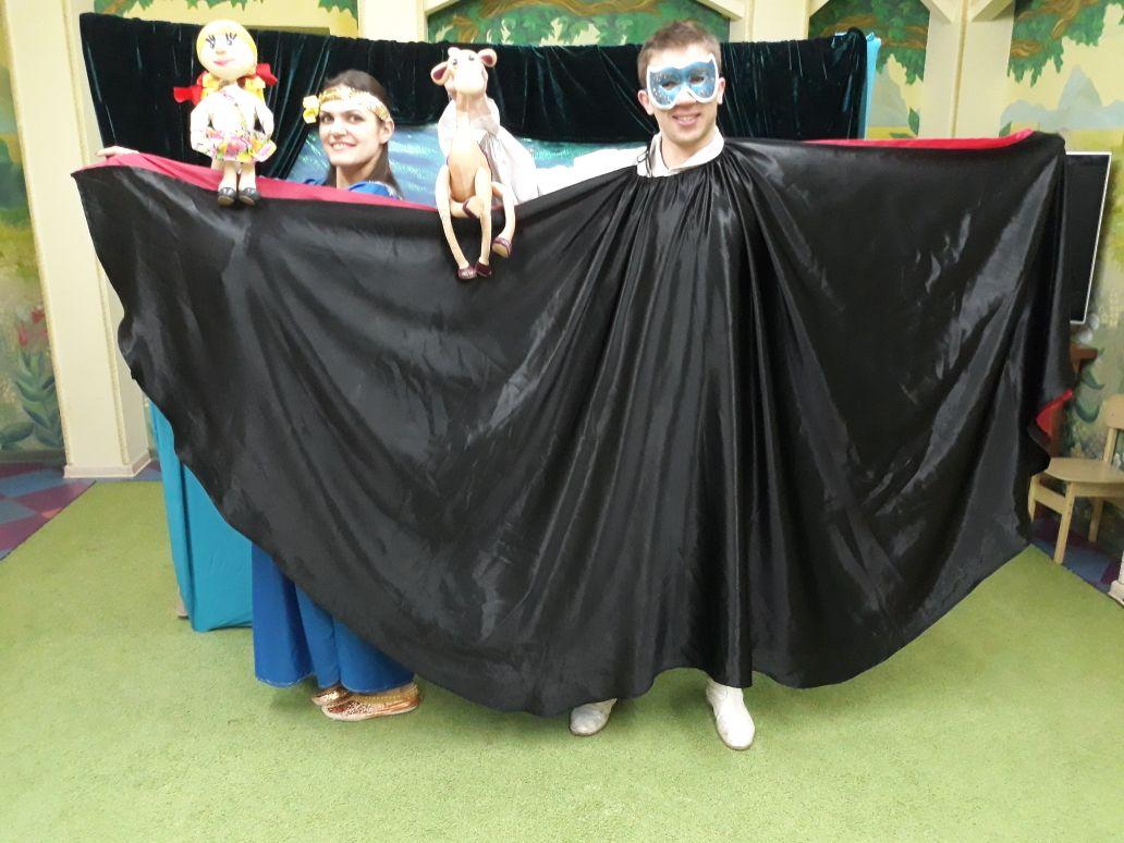 Волшебная кукольная сказка-спектакль
