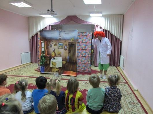 Выездной спектакль для детского сада